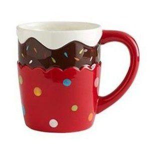Pier 1 Cupcake Ceramic Mug